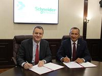 SECOND DAY OF SCHNEIDER ELECTRIC PRESIDENT'S VISIT